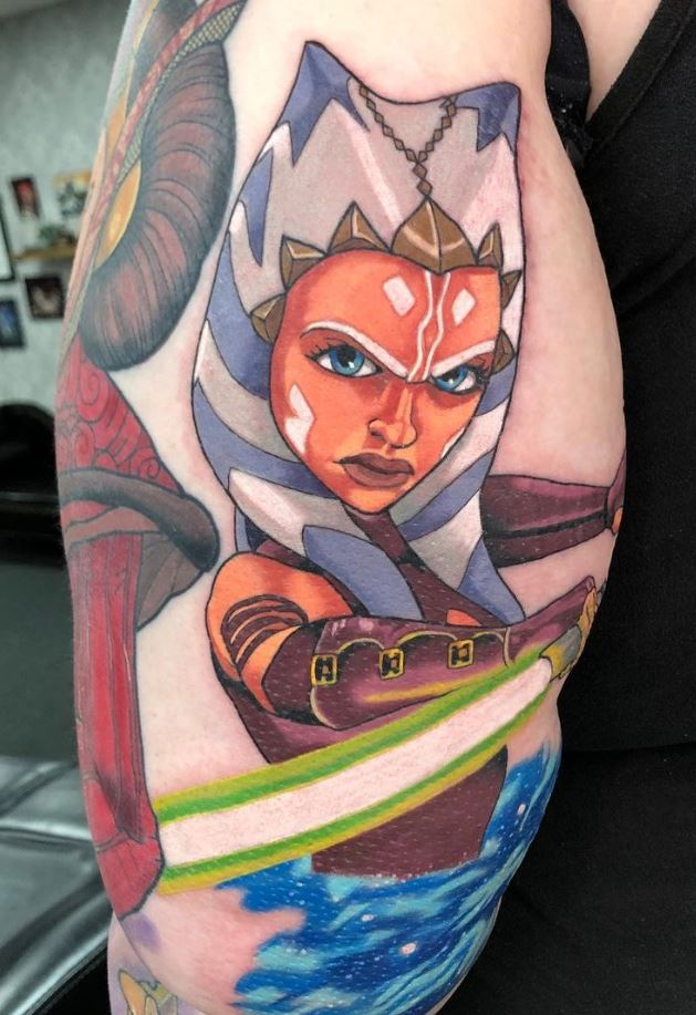 Ahsoka Tano Tattoo