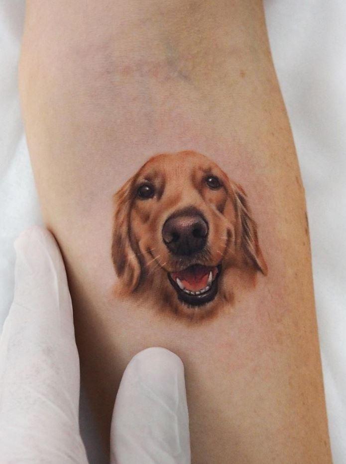 Awesome Dog Tattoo