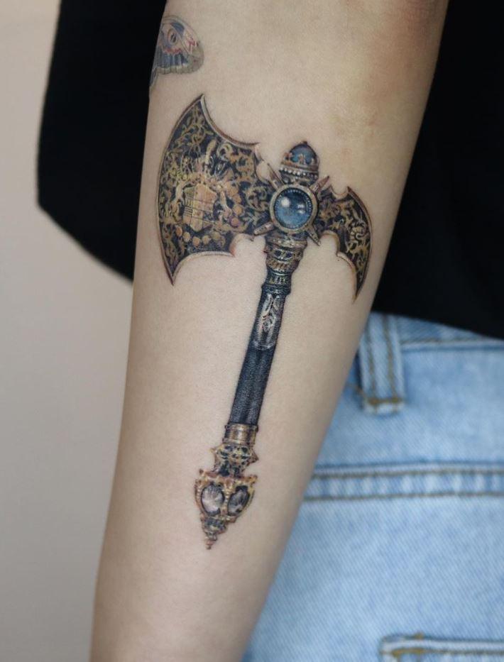 Axe Tattoo