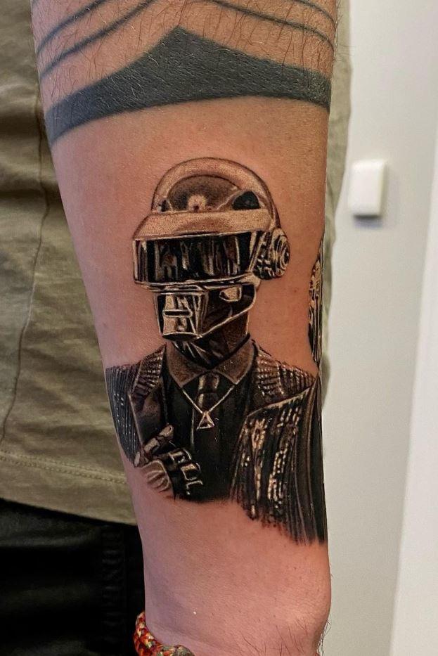Daft Punk Tattoo