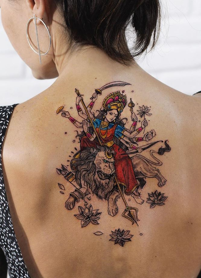 Durga Tattoo