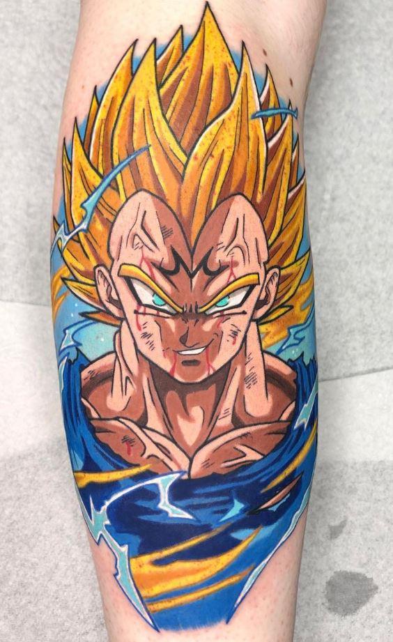 Majin Vegeta Tattoo