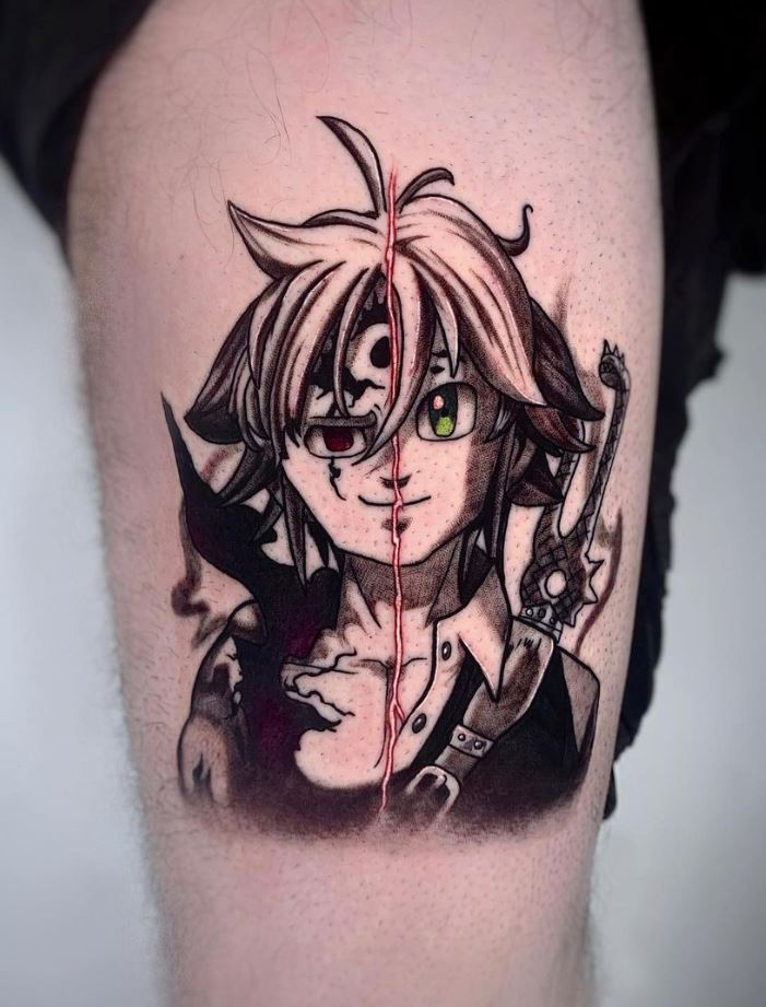 Meliodas Tattoo