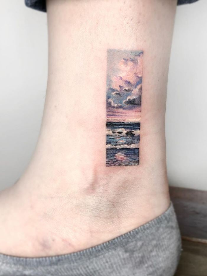 Nature Frame Tattoo