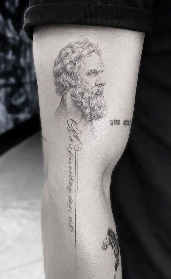 Plato Tattoo