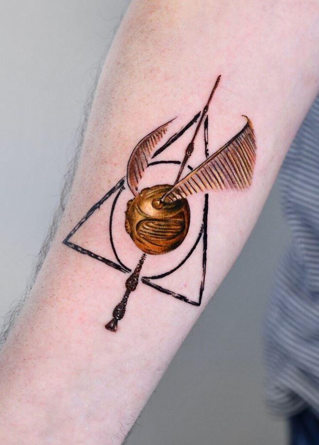 Quidditch Tattoo