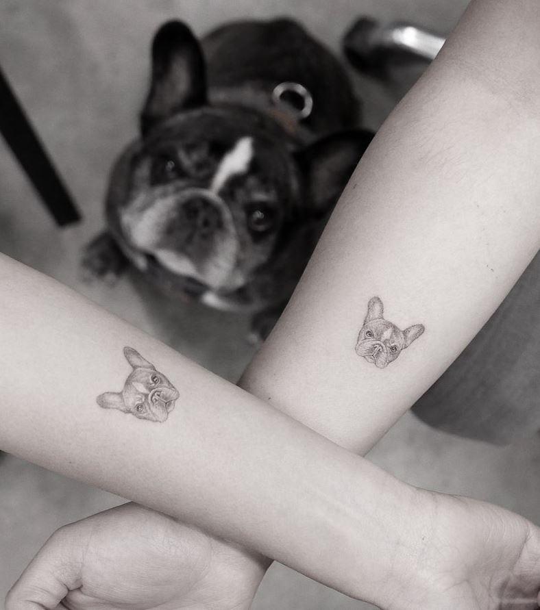 Tiny Dog Tattoo