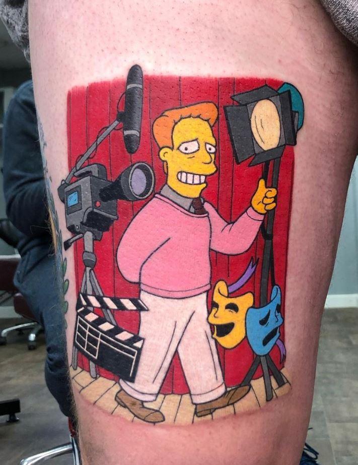 Troy McClure Tattoo