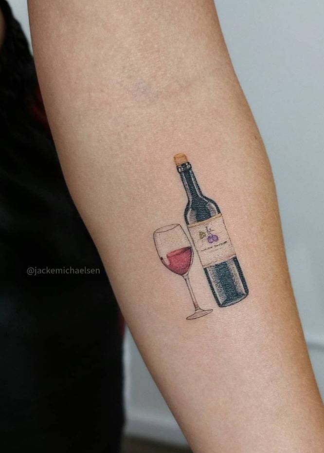 Wine Tattoo