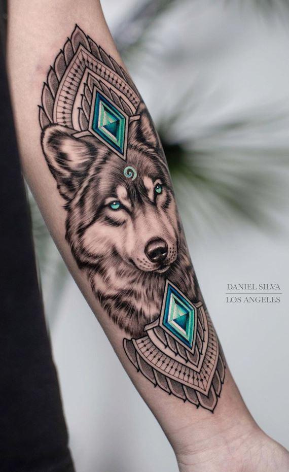 Marvelous Wolf Tattoo