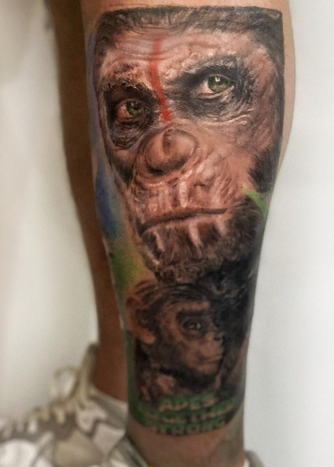 Planet Of The Apes Tattoo