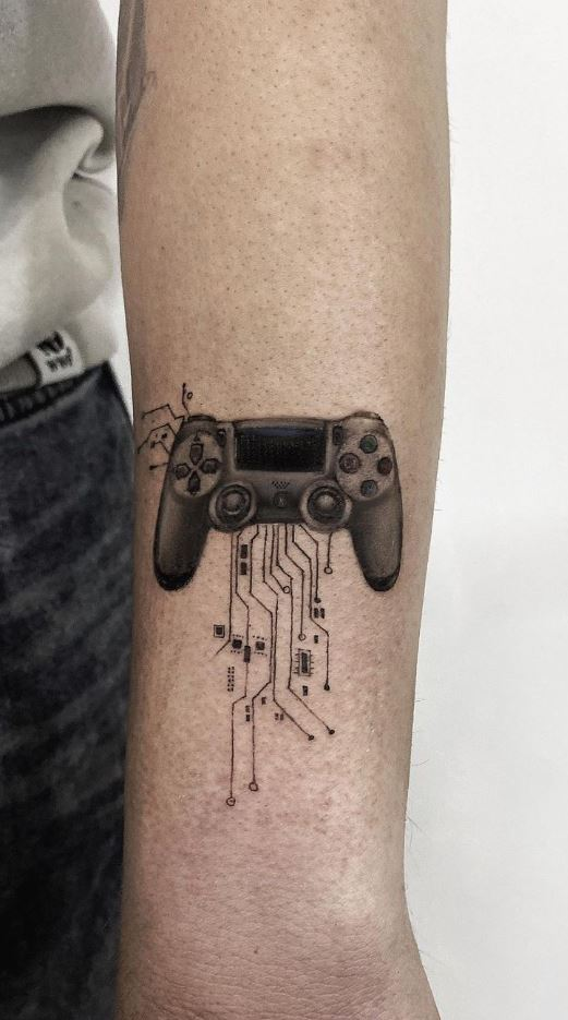 Play Station Tattoo