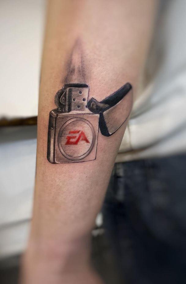 Zippo Tattoo