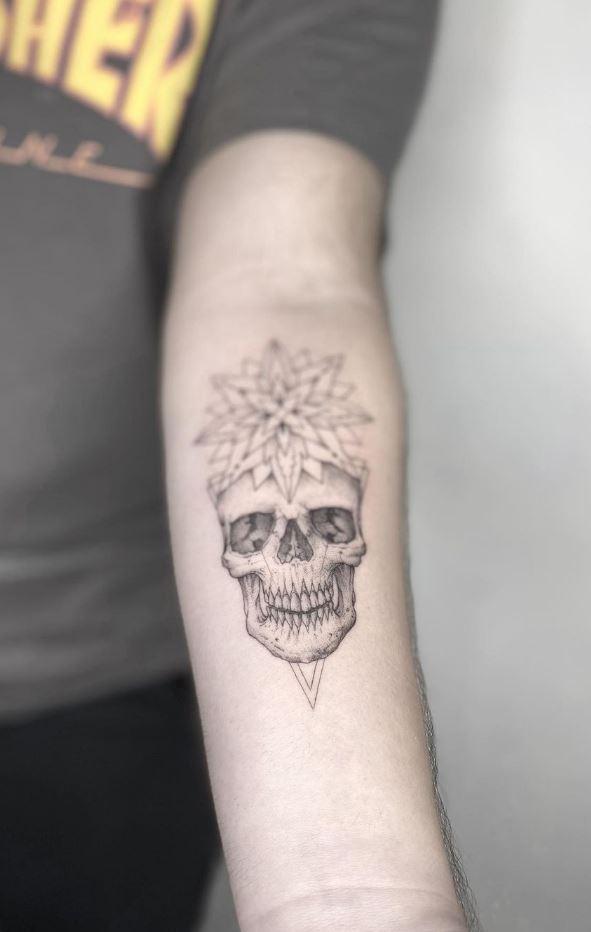 Breathtaking Skull Tattoo