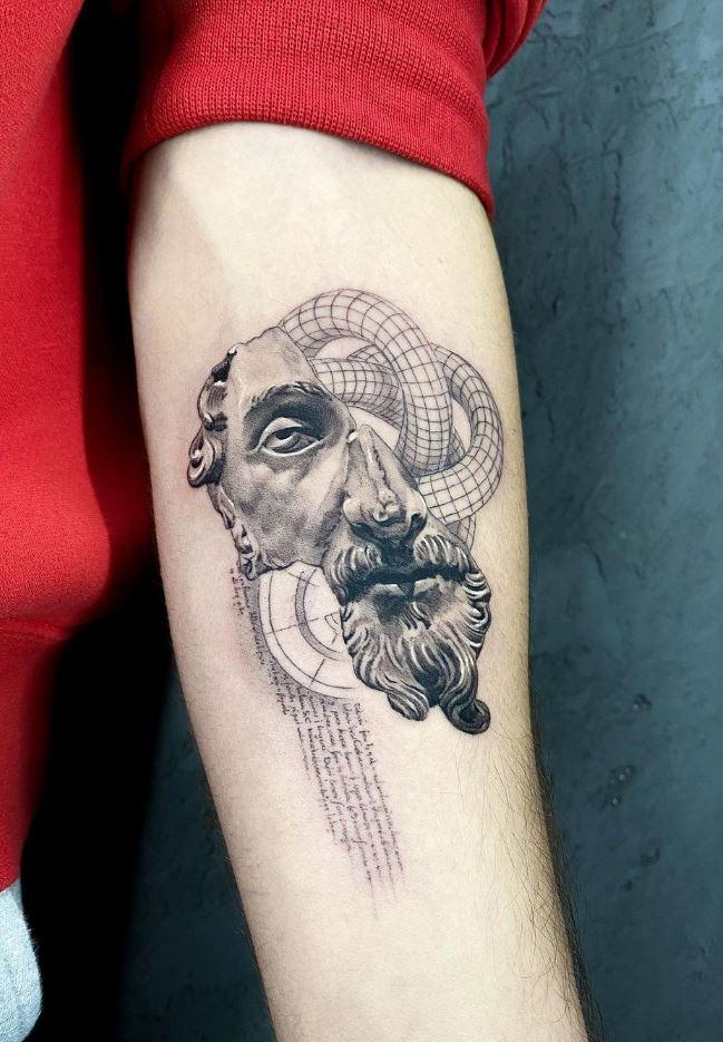 Marcus Aurelius Tattoo