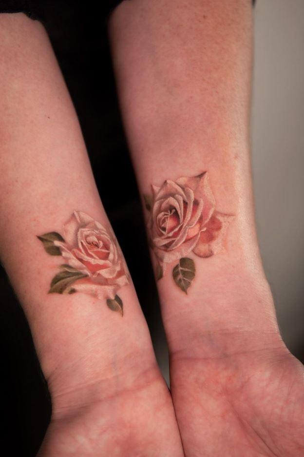 Miniature Roses Tattoo