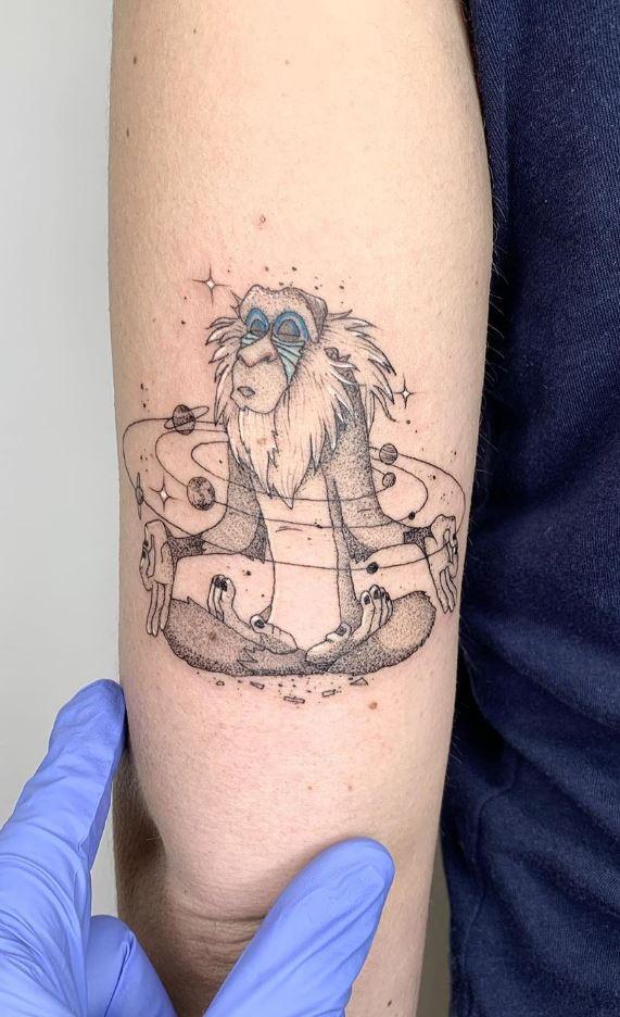 Rafiki The Lion Guard Tattoo