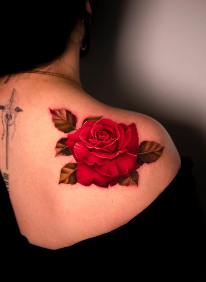 Righteous Flower Tattoo