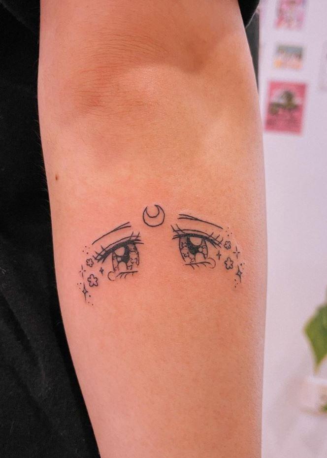 Sad Eyes Tattoo